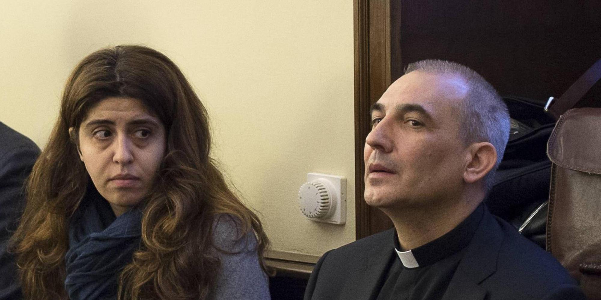 Vallejo Balda, en régimen de semilibertad en el Vaticano