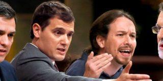 La suma de Unidos Podemos y PSOE se acerca a la mayoría absoluta con 172 diputados