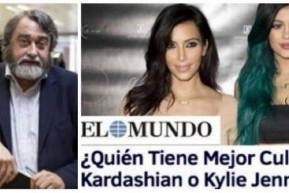 """La queja de los redactores de papel de El Mundo sobre su web: """"Ya está bien del culo de la Kardashian"""""""