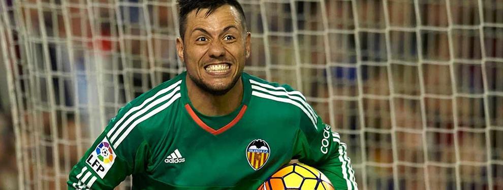 Diego Alves no se va a prestar a 'arreglar los problemas' del Sevilla