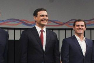 Los cuatro candidatos contentos, los demás agobiados