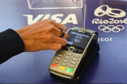 Visa crea un anillo con el que los deportistas podrán pagar en los comercios durante los JJOO
