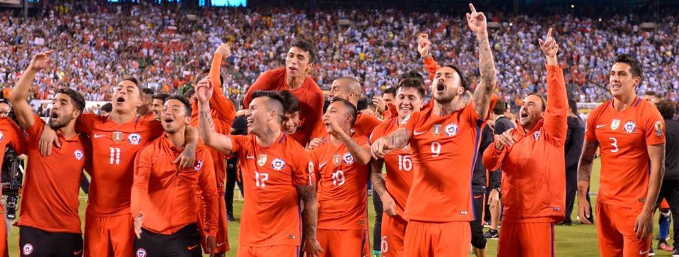 El Celta de Vigo premia a sus tres campeones de la Copa América