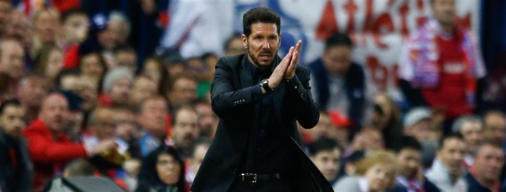 El Cholo Simeone cierra el primer fichaje para el Atlético de Madrid