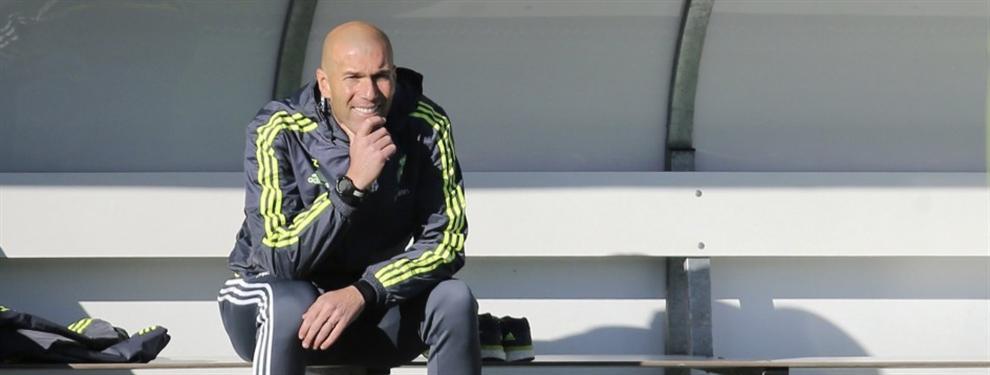 El fichaje inesperado de Zinedine Zidane para el Real Madrid