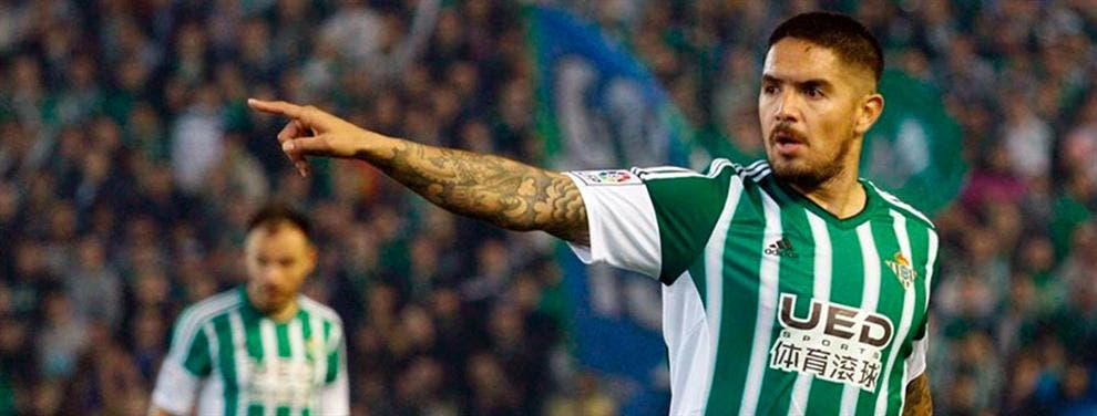 El gesto revelador de Juan Vargas: le va a dar 'guerra' al Real Betis