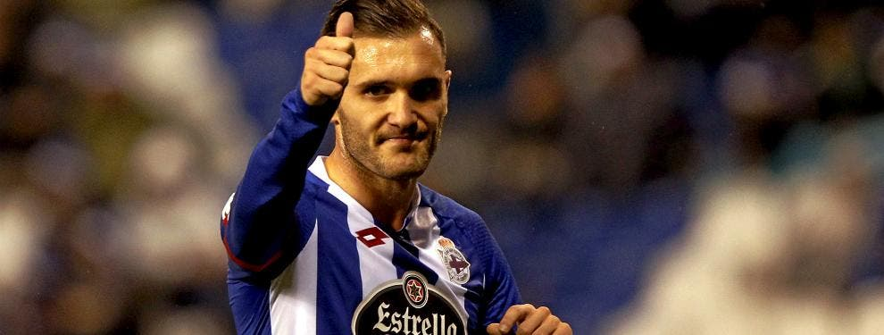 El jugador inesperado que irrumpe en el fichaje de Lucas Pérez por el Sevilla