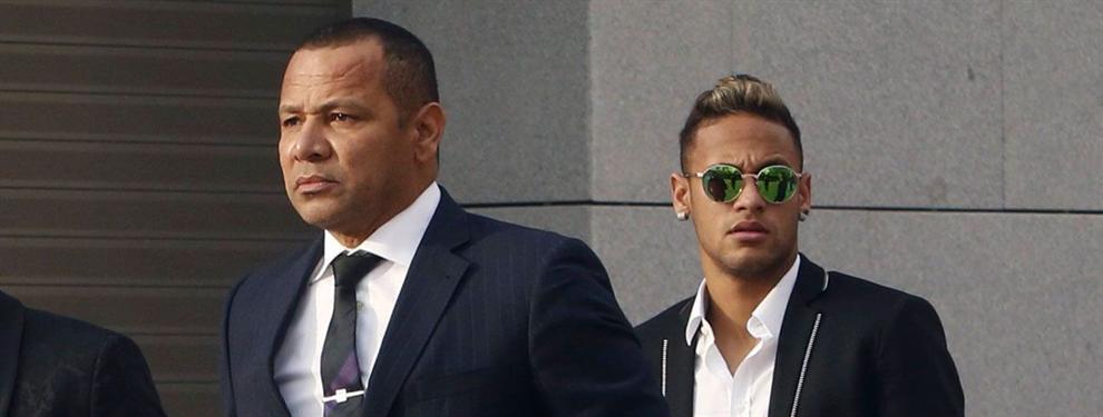 El padre de Neymar le pone las cosas claras a su hijo