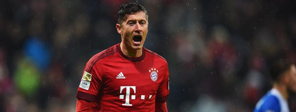 El último giro en el futuro de Lewandowski lo aleja del Madrid... Y del Bayern