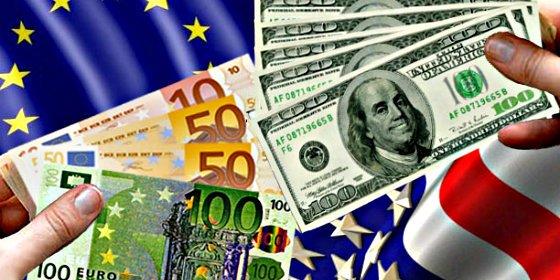 La libra y el euro aguantan el tipo al dólar y la rentabilidad del bono español a 10 años baja hasta el 1,28%