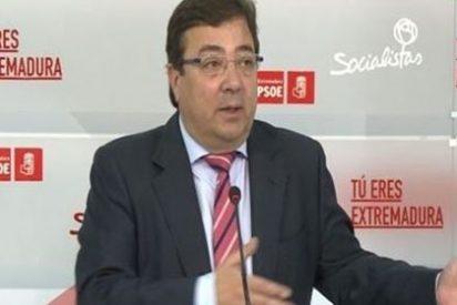 El barón socialista Fernández Vara dice que Rajoy debe formar gobierno y el PSOE irse a la oposición