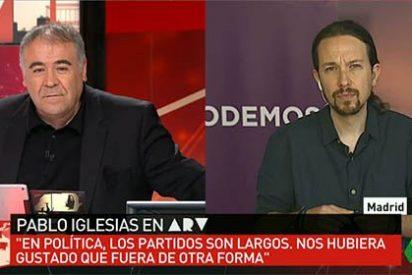 """Pablo Iglesias culpa a las encuestas del batacazo de Podemos: """"Nos hemos llevado más hostias que nadie"""""""