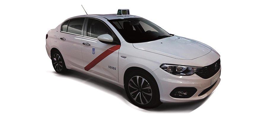 Fiat homologa el Tipo como Taxi en Madrid