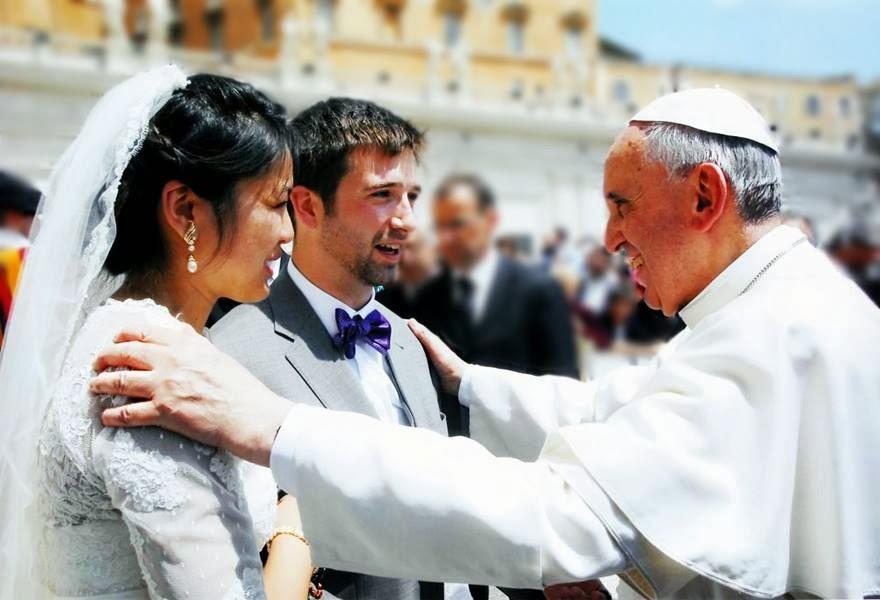 """Francisco sostiene que la gran mayoría de los matrimonios sacramentales """"son nulos"""""""
