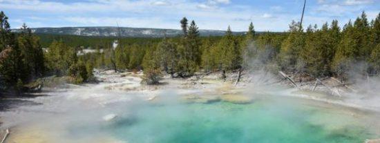 El terrible caso del joven desintegrado en una fuente termal del parque de Yellowstone