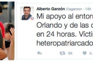 """Tonto a las tres: Garzón hace el ridículo culpando al """"heteropatriarcado"""" de la masacre islamista de Orlando"""
