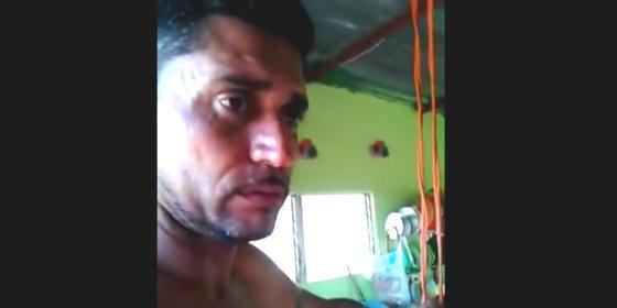 """[VÍDEO] El desesperado venezolano que decide suicidarse: """"Este Gobierno nos va a matar de hambre"""""""