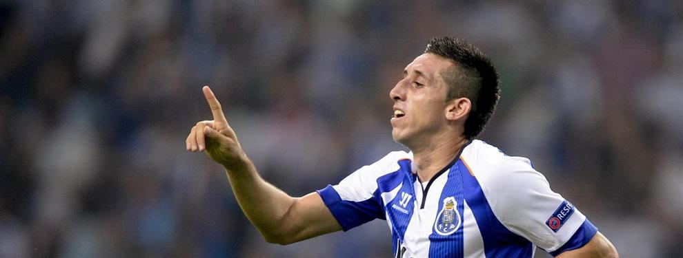 Héctor Herrera cada vez más cerca del Napoli