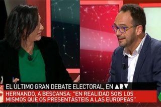 """El Hernando más agresivo se lanza a por Bescansa: """"Me engañaste por querer ser presidenta del Congreso"""""""