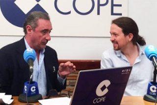 El tremebundo editorial de Carlos Herrera que hace trizas a los podemitas
