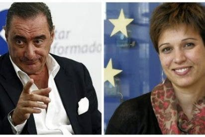 """Carlos Herrera pide un """"desfibrilador de tontos"""" para Beatriz Talegón"""