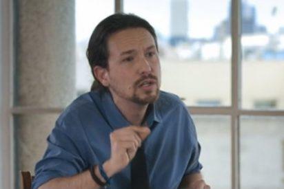 """El teatrillo de Pablo Iglesias cuando le recuerdan que llamó """"terrorista"""" al dueño de Zara"""