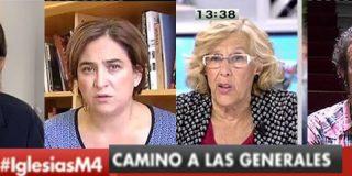 Carmena y Colau siguen cobrando 100.000 euros brutos un año después de su elección