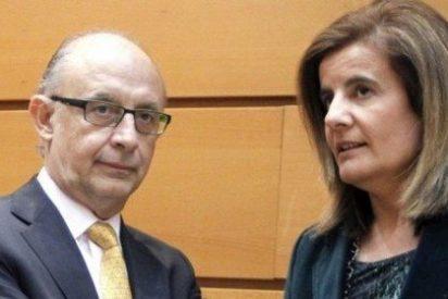 """El PP en campaña del 26-J: Los ministros Montoro y Báñez prometen """"bajar los impuestos"""""""