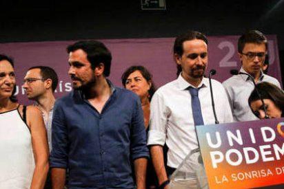 La 'Noche Triste' de los de Podemos, que se quedan sin sonrisa y con cara de tontos