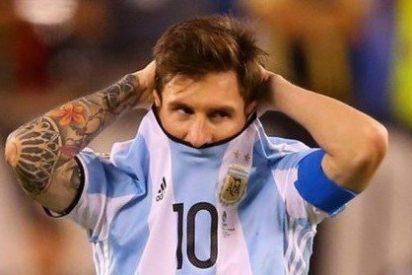 Leo Messi renuncia a jugar más con Argentina tras pifiarla y perder la final de la Copa América