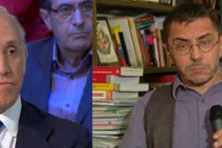 "Eduardo Inda coge por la solapa a Monedero: ""Sus declaraciones me parecen fascistoides"""