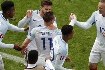 Inglaterra remonta con agonía el derbi ante Gales (2-1)