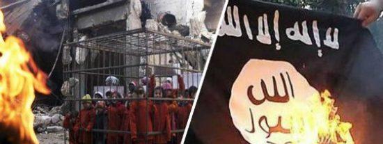 Las 19 yazidíes quemadas vivas en jaulas por ISIS tras negarse a ser esclavas sexuales