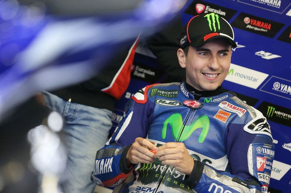 """Lorenzo, """"decepcionado"""" por un cambio de trazado que favorece a las Honda"""