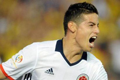 José Mourinho aprieta al United por James Rodríguez