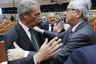 """Juncker a Farage: """"¿Qué haces aquí? Es la última vez que aplaudes"""""""