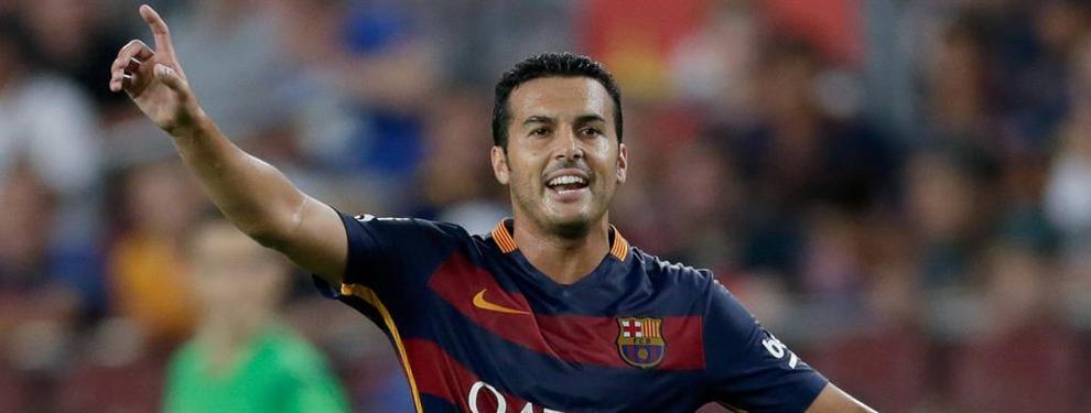 La condición que le pone el Barça a Pedro para negociar su vuelta