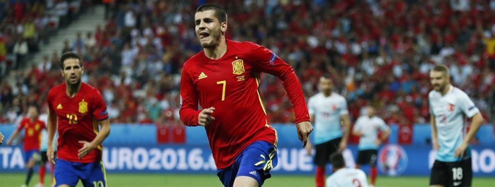 La plantilla del Madrid tiene clara su postura sobre Morata