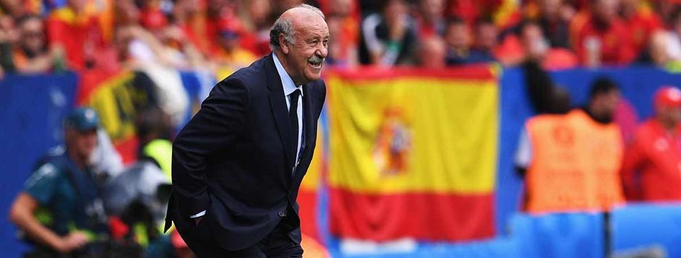 Las negociaciones secretas por Vicente del Bosque en mitad de la Eurocopa