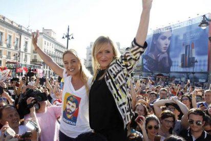 PP y Ciudadanos arropan en Madrid a la mujer del preso político venezolano Leopoldo López