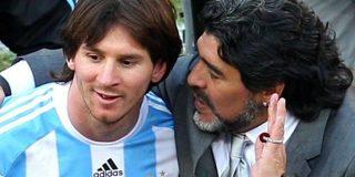 Lionel Messi no se quedó callado con la inapropiada frase de Diego Maradona