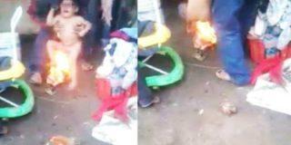 Así le quema los genitales a su hijastro de 3 años por hacerse pis en la cama