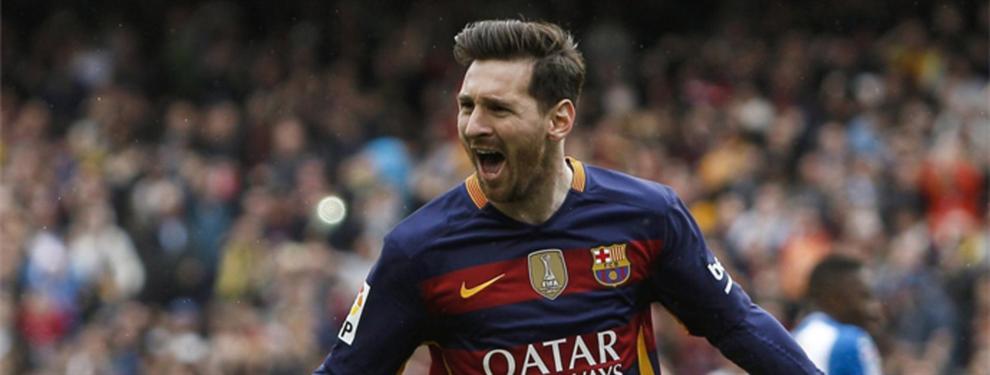 Los esfuerzos del Barça por hacerle la rosca a Leo Messi