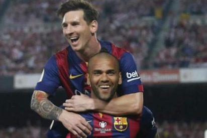 Los motivos por los que Leo Messi intentó frenar la marcha de Alves del Barça