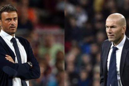 Luis Enrique tiene envidia sana de Zinedine Zidane