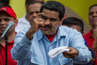 """Maduro enrojece de ira con la OEA y manda al carajo a Almagro: """"Métase su Carta Democrática donde le quepa"""""""