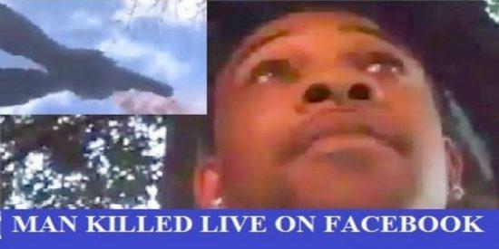 [VÍDEO] La muerte a balazos transmitida en directo por Facebook