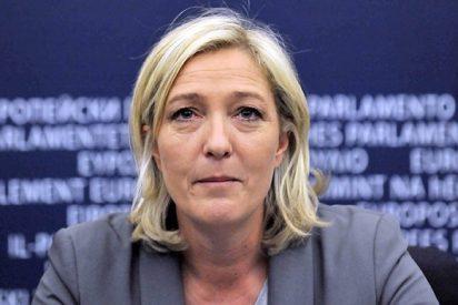 Marine Le Pen se viene arriba con el Brexit y exige ya un referéndum para que los franceses se vayan de la UE