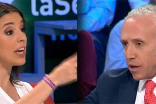 """La 'Primera Dama' de Podemos se derrite con Inda: """"Eres el nuevo 'Manos Limpias'"""""""
