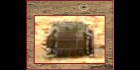 El extraño pedazo de motor hallado en Marte por el Curiosity